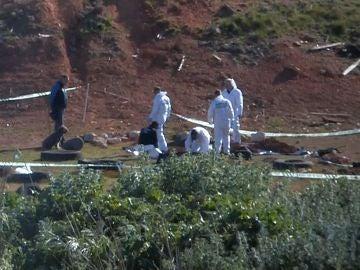 El lugar donde ha sido hallado este domingo en Ulldecona (Tarragona) el cadáver de la joven de 26 años desaparecida