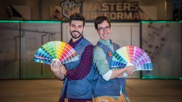 Javier Garrido y Jonathan Coronado, pareja de peones de 'Masters de la reforma'