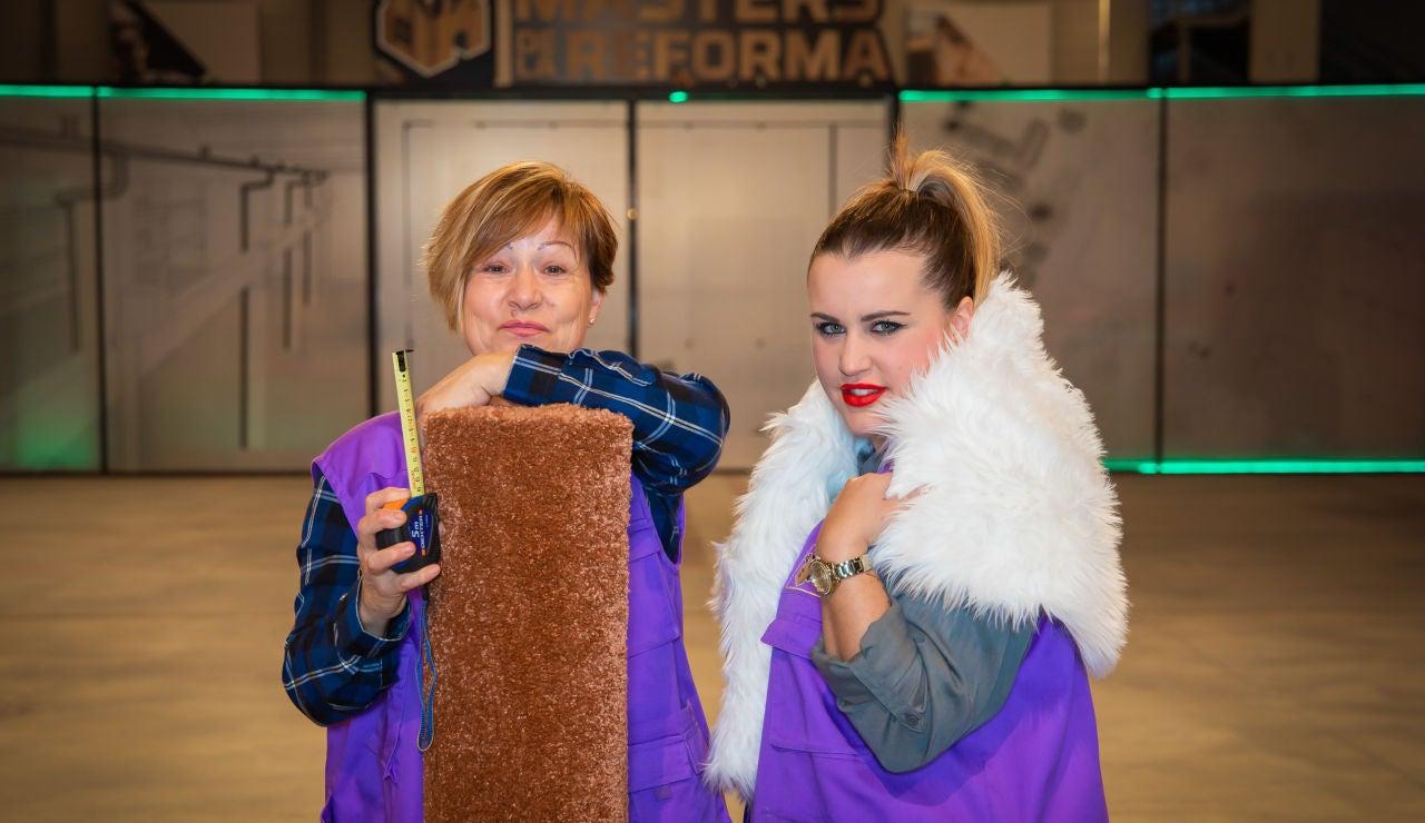Raquel y Mª Ángeles, pareja de peones en 'Masters de la reforma'