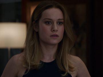 Brie Larson, Capitana Marvel en 'Vengadores: Endgame'
