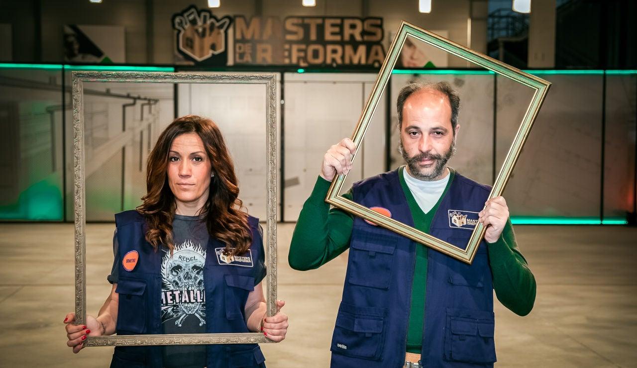 José e Iratxe, pareja de peones de 'Masters de la reforma'