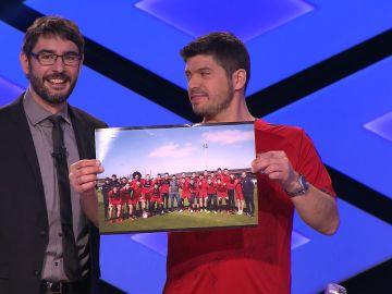 Manu comparte en '¡Boom!' su devoción por un club de fútbol