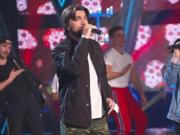 Así han sido los primeros ensayos de los finalistas de 'La Voz' junto a Juanes en el plató