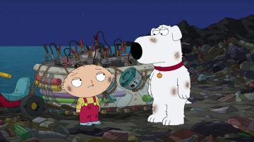 Stewie y Brian se quedan atrapados en Isla Basura