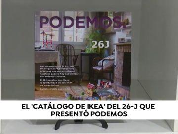 Del catálogo de Ikea a una 'Constitución': así es el programa electoral de Podemos