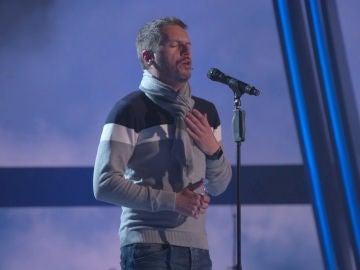 El espectacular ensayo de Ángel Cortés en el plató de 'La Voz' para la gran Final