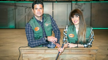 Paco Serrano y Jéssica Navarro, peones de 'Master de la reforma'