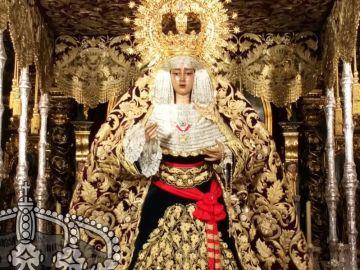 La Virgen de la Caridad en Sevilla.