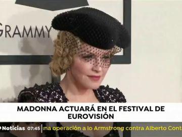 Madonna actuará en el festival de Eurovisión