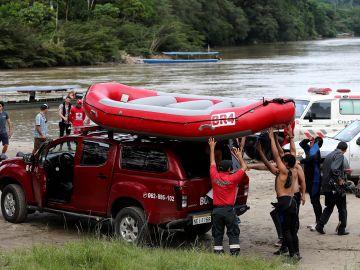 Búsqueda del español desaparecido en Ecuador