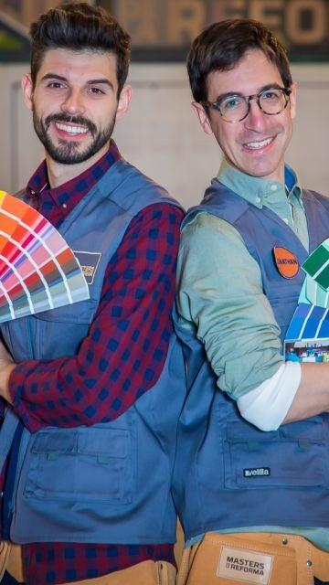 Javier Garrido y Jonathan Coronado