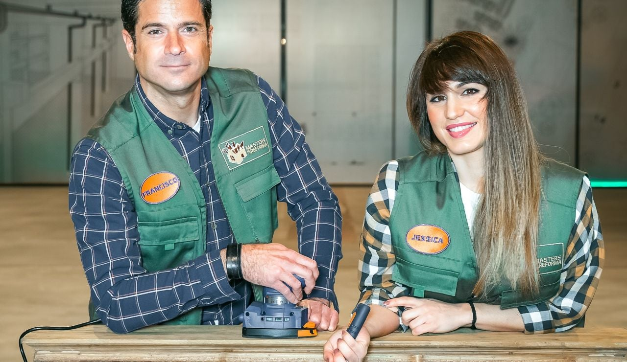 Paco Serrano y Jéssica Navarro