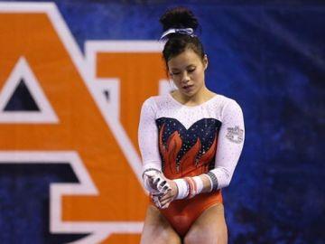 La gimnasta Samantha Cerio