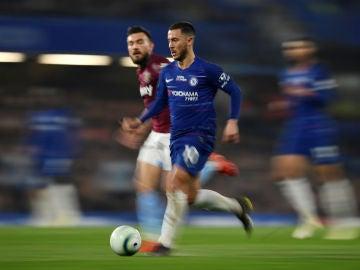 Hazard, a toda velocidad contra el West Ham