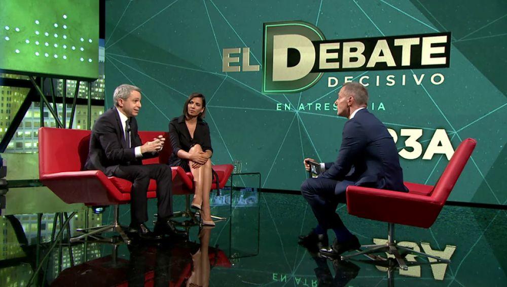 """Vicente Vallés y Ana Pastor, sobre el debate decisivo: """"En la vuelta es donde se juega el resultado final"""""""