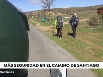La Guardia Civil refuerza la seguridad en el Camino de Santiago durante la Semana Santa