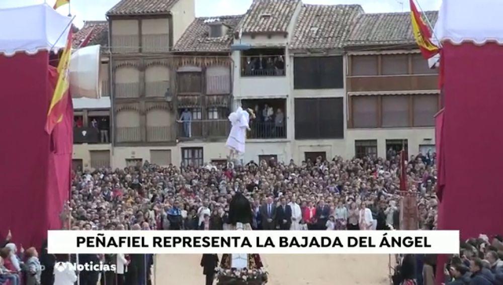 Bajada del Ángel en Peñafiel