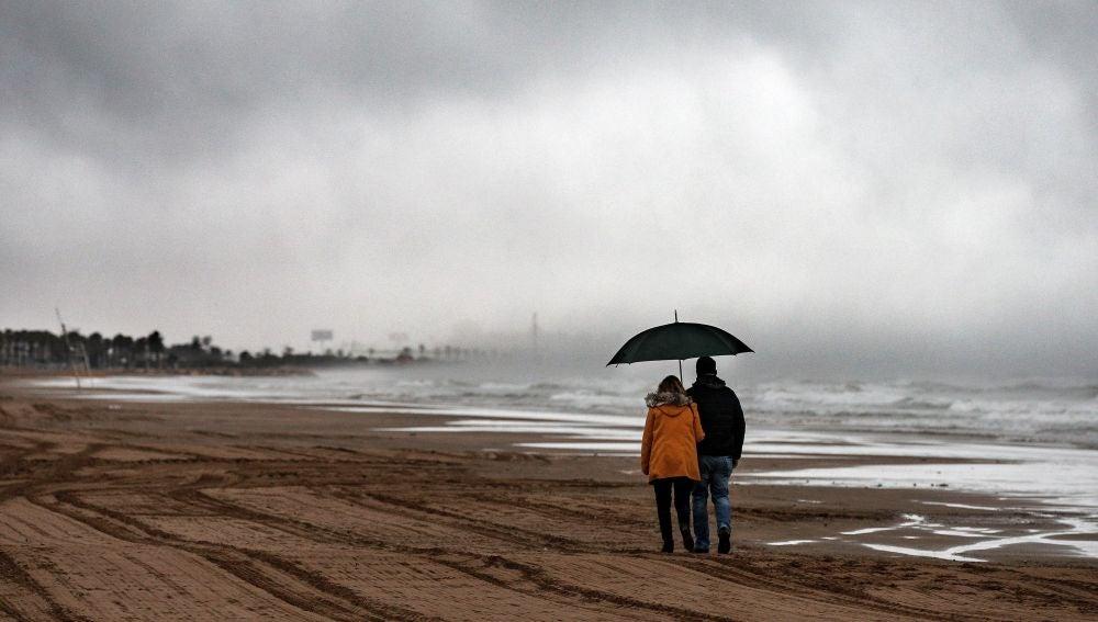 El temporal de lluvia y viento continúa en la Comunidad Valenciana