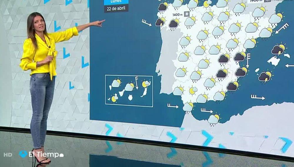 Suben las temperaturas pero siguen las lluvias en Cataluña y la Comunidad Valenciana