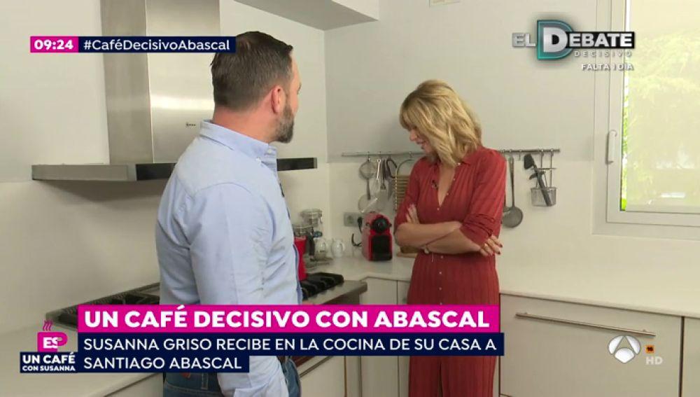 """Santiago Abascal, líder de Vox: """"Hay que plantearse algún tipo de servicio público, puede ser militar, puede ser social"""""""