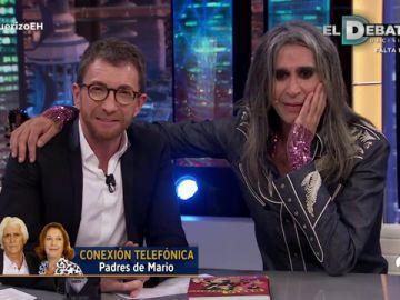 La entrañable llamada de Mario Vaquerizo a sus padres en 'El Hormiguero 3.0'