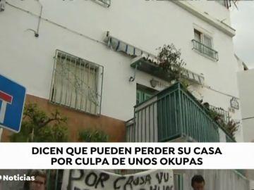 Una familia de Granada denuncia que se pueden quedar en la calle por culpa de unos okupas