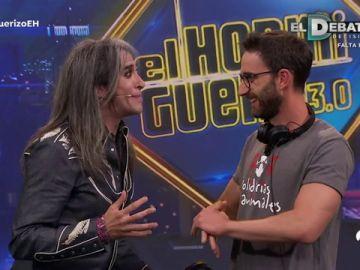 El loco teléfono escacharrado musical durante la visita de Mario Vaquerizo en 'El Hormiguero 3.0'