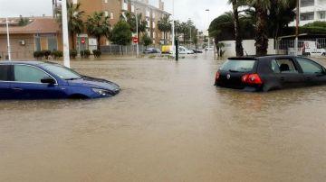 El temporal de lluvia y viento que afecta a la Comunidad Valenciana