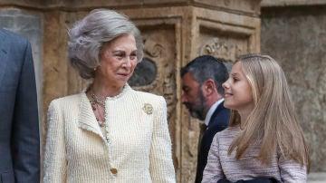 Doña Sofía y la Infanta Sofía