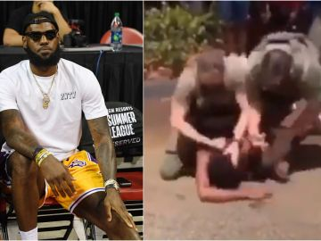 Lebron James denuncia el abuso policial contra un joven de color