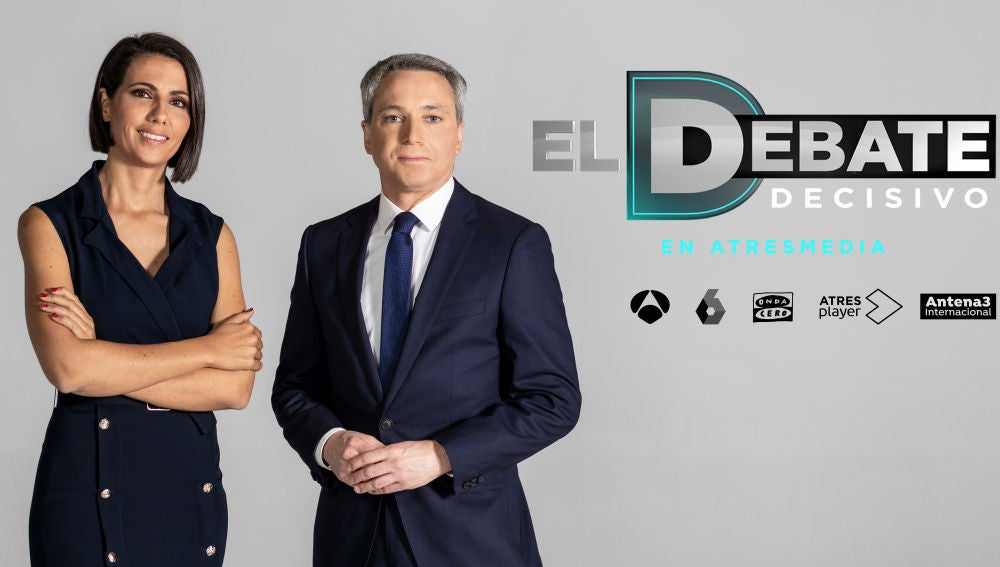 Vicente Vallés y Ana Pastor, moderadores de 'El Debate Decisivo'