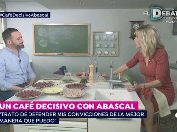 """Susanna griso recibe a Santiago Abascal en su casa: """"Vox representa las necesidades de los españoles"""""""