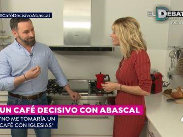Santiago Abascal: 'No me tomaría un café con Iglesias'