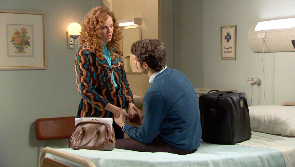 """Ana acompaña a Carlos en su alta médica: """"Es el momento de que hagamos ese viaje que teníamos planeado"""""""