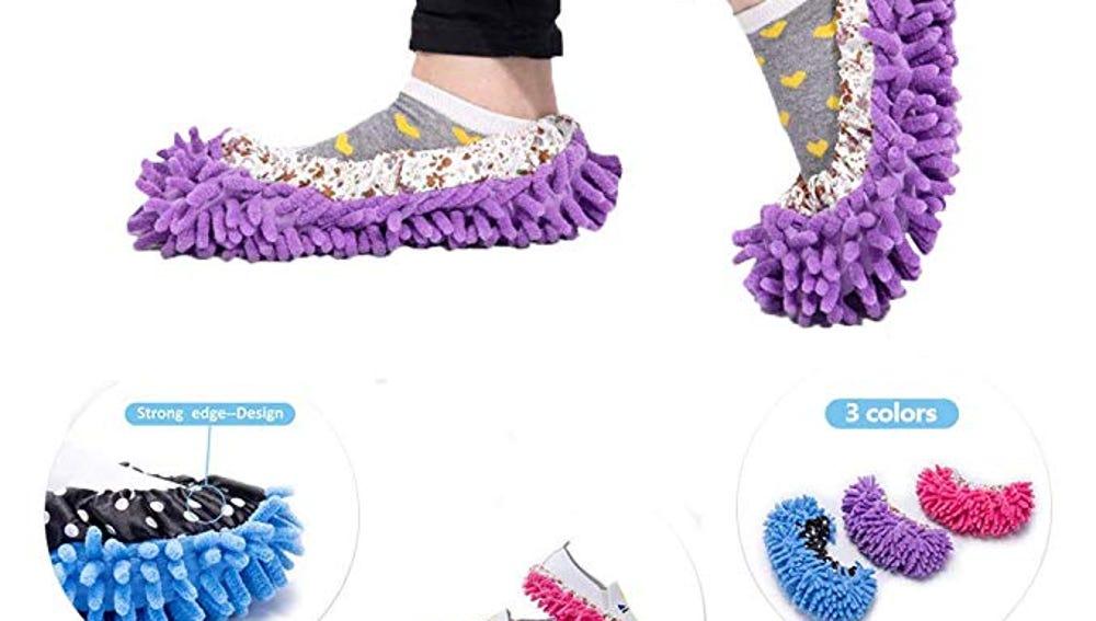 Zapatillas para limpiar