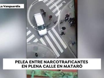 Los vecinos no aguantan más: las impactantes imágenes de una pelea entre dos grupos de narcotraficantes en las calles de Mataró