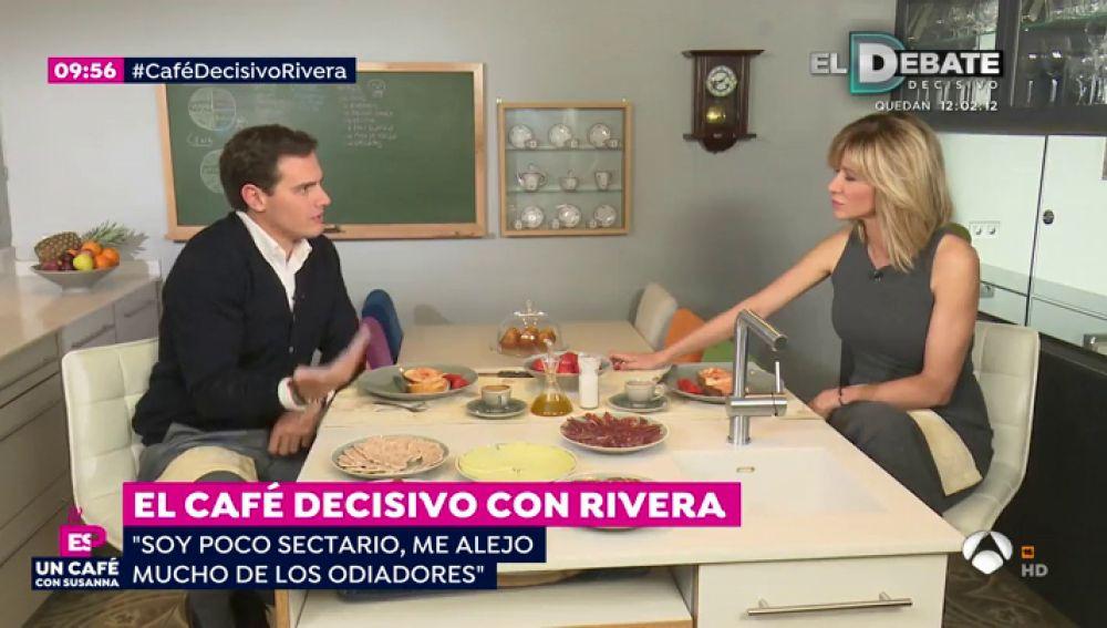 Albert Rivera habla sobre Cataluña