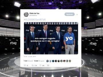 Los mejores memes del debate en RTVE