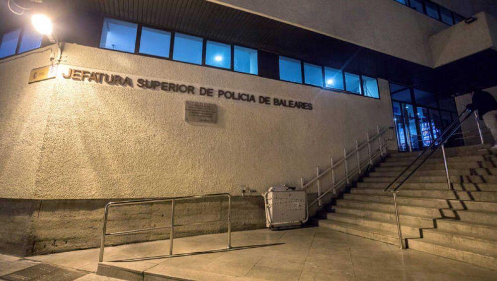 Jefatura Superior de la Policía de Baleares en Palma.