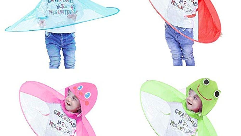 Paraguas chubasquero para niños