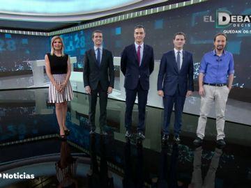 Así valoraron Vox y el resto de partidos políticos el debate de RTVE