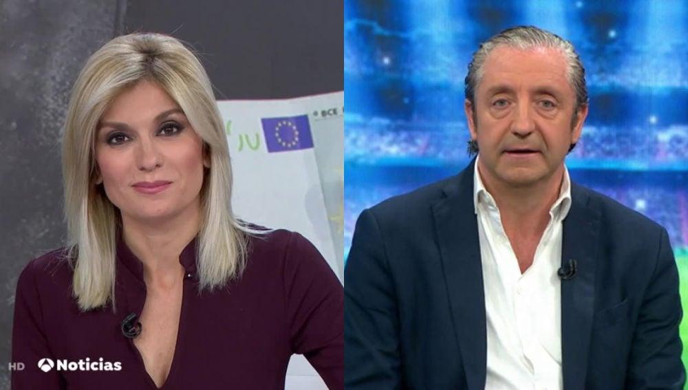 Sandra Golpe y Josep Pedrerol