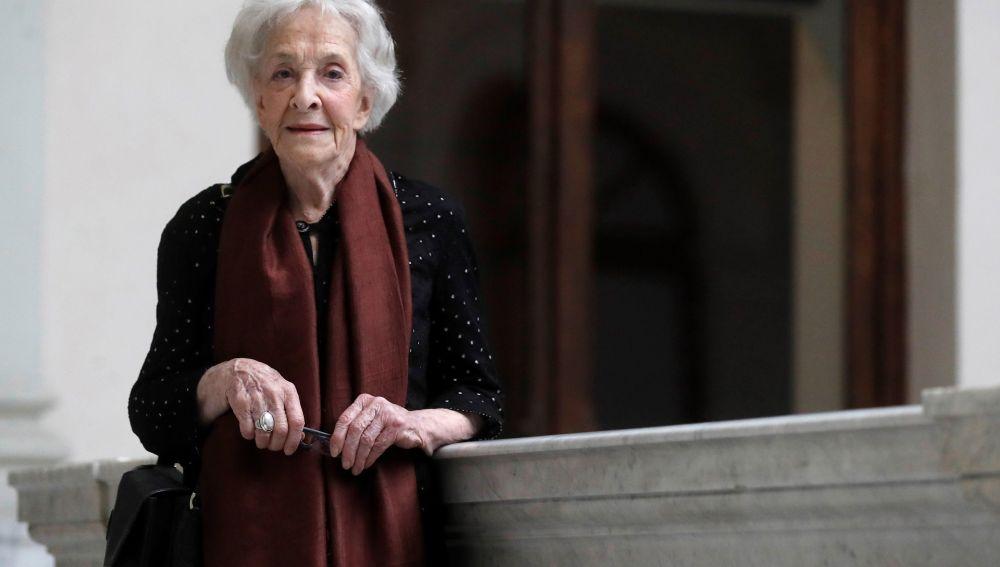 La poeta uruguaya Ida Vitale recibe hoy el Premio Cervantes