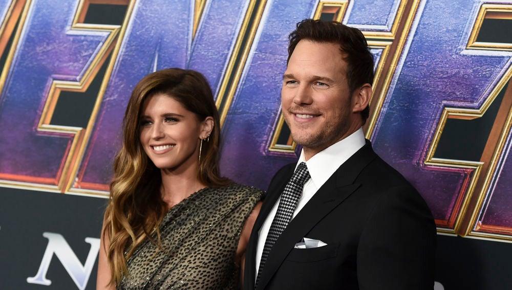 El primer posado de Chris Pratt y Katherine Schwarzenegger juntos antes de su boda