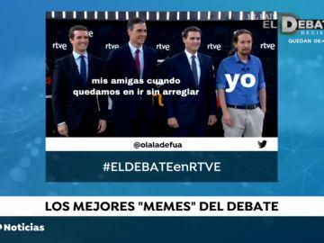 Los mejores memes de los candidatos en el debate de TVE