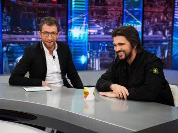 Las confesiones de Pablo Motos y Juanes en 'El Hormiguero 3.0': dos grandes borracheras, una pierna rota y una resaca de cuatro días
