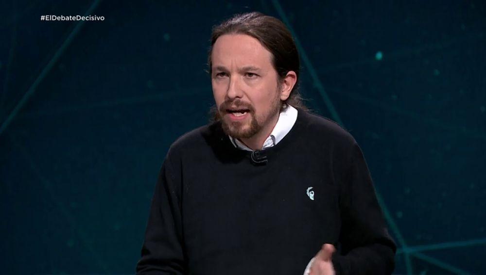 """Pablo Iglesias:  """"La alta temporalidad es consecuencia de la reforma laboral de 2010 y 2012"""""""
