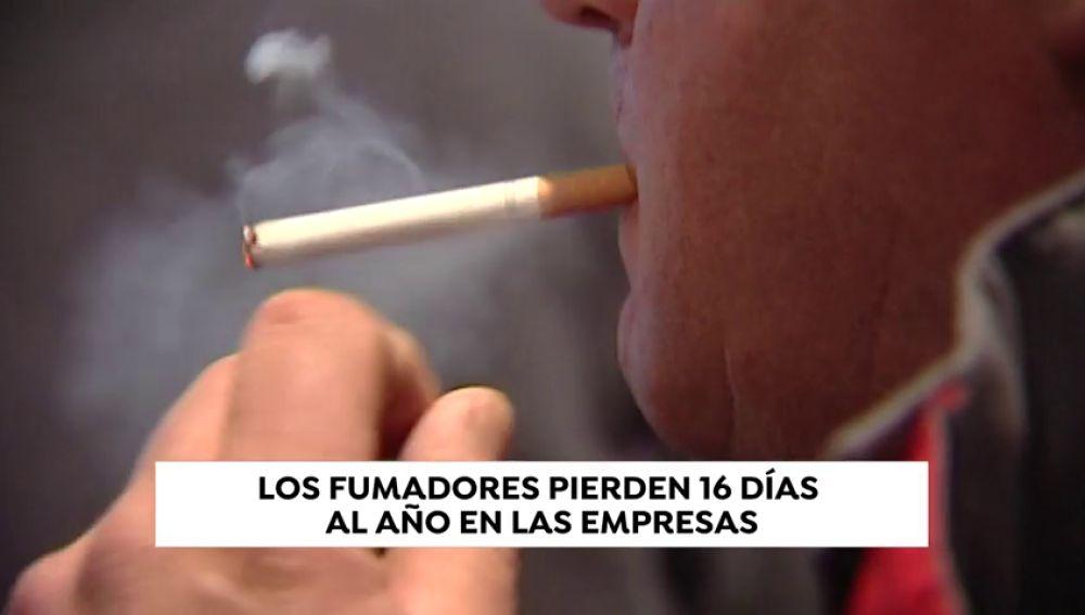 Los fumadores causan a las empresas pérdidas anuales de 26.000 millones de euros