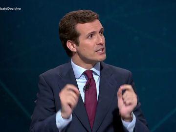 """Pablo Casado: """"La inversión extranjera ha caído"""""""