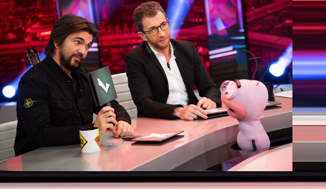Confesiones, risas y música con Juanes y Pablo Motos